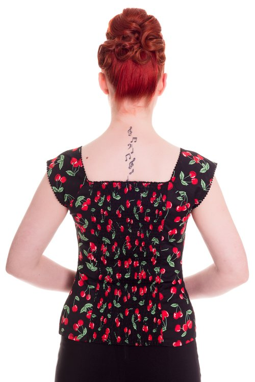 Cherry Pie Top by Hell Bunny