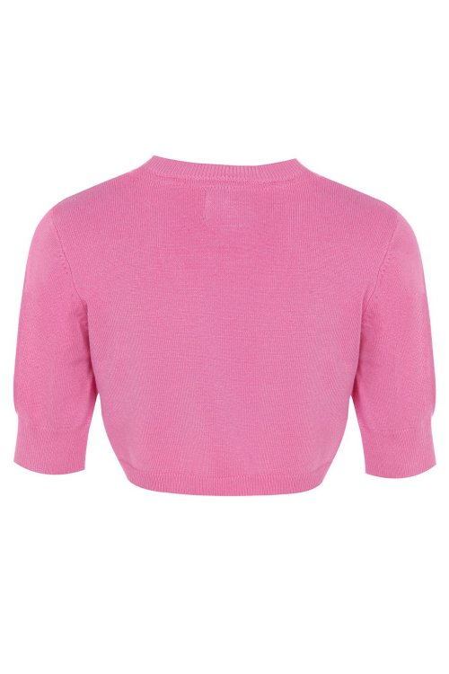 Mini Kennedy Children's Bubblegum Pink Shrug