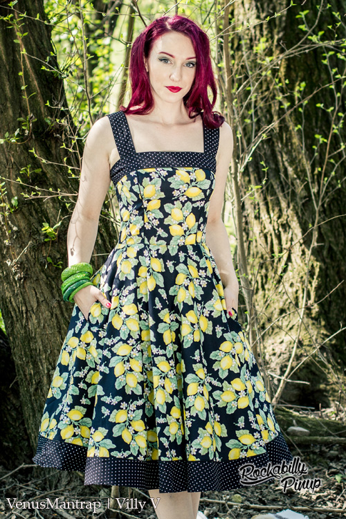 Leandra Lemons 50's Dress by Hell Bunny = XXL ONLY