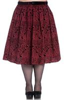Sherwood Red 50's Skirt by Hell Bunny