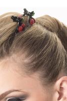 Day of Destiny Cherry Hairclip