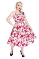Samantha Roses Floral 50's Rockabilly Summer Dress