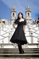 Sloane Black Swing Dress by Lindy Bop