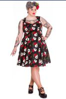 Rock & Ruin Skull Roses 50's Style Dress by Hell Bunny
