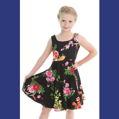 Classical Vintage Swing Dress for Girls by H&R London