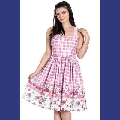 Strawberry Shortcake Summer Dress by Hell Bunny