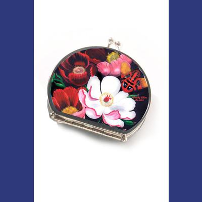 Glorious Compact Mirror by Woody Ellen