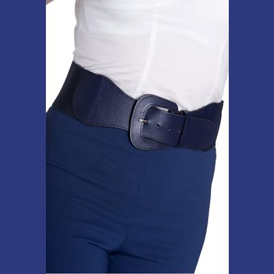 Rizzo Navy Blue Belt by Hell Bunny