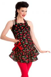 Cherry Pie Retro Apron by Hell Bunny