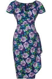 Elsie Dress - Violet Rose Bloom
