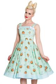 Foxy Mint Green 50's Dress by Hell Bunny