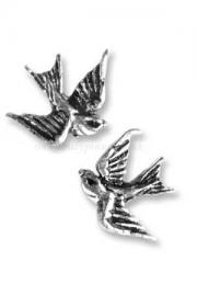 Swallow Studs Earrings by Alchemy