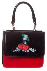 Cherry Little Black and Red Handbag by Banned