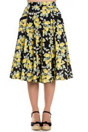 Leandra Lemons 50's Skirt by Hell Bunny - 3X ONLY