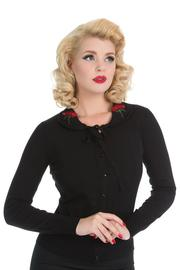Rose Cardigan in Black