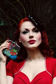Burlesque Coin Purse by Woody Ellen
