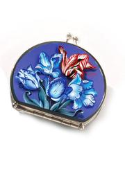 Porcelain Compact Mirror by Woody Ellen