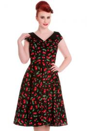 Cherry Pop 50's Dress by Hell Bunny XS ONLY