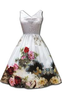 Summer Loving Floral White Dress by H&R London